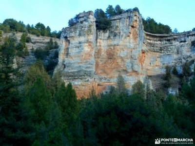 Cañones del Río Lobos y Valderrueda;nacimiento del rio manzanares rutas madrid senderismo licencia